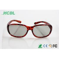 Clip on Virtual reality Readl 3d glasses Linear polarization 3d Glasses for cinema use Manufactures