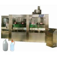 PET / HDPE / GLASS Bottle Automatic Liquid Filling Machine For Edible Oil / Soy Sauce Manufactures