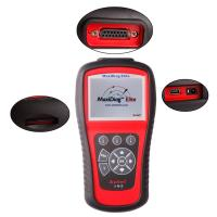 OBD2 Scanner Codes Autel Maxidiag Elite MD701 With Data Stream Function for All System Update Internet Manufactures