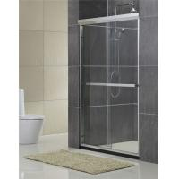 Buy cheap Aluminum Alloy Inline Double Work Shower Enclosure With Same Material Accessorie from wholesalers