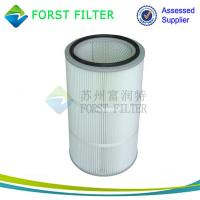 China FORST Manufacturer Ployester Air Filter Pleated Air Filter Cartridge for Dust Collection wholesale