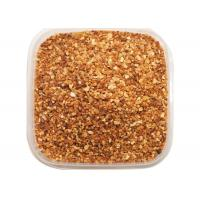 China Pungent Flavor Roasted Garlic Granules , Roasted Garlic Powder Light Yellow on sale