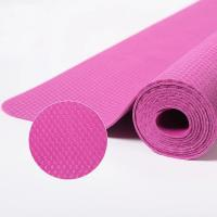 China Natural Rubber Yoga Mat, Ultra-Thin foldable Mat, Non-slip Portable Yoga/Outdoor Blanket Travel Pad,Hot Yoga Mat-PINK on sale