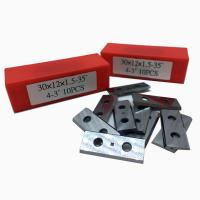 Buy cheap RTing Solid Carbide Square Reversible Insert Knives,Replacement Tips,30 x 12 x 1 from wholesalers
