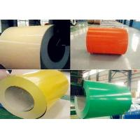 Soft Semi / Full Hard PPGI And PPGL Sheets , Galvanized Sheet Metal Rolls Manufactures