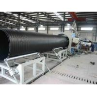 Large Diameter Pipe Production Line / Hdpe Pipe Making Machine 320 - 800kg/hr Manufactures