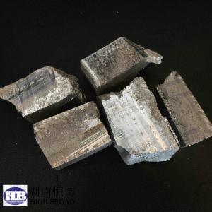 China Magnesium Zinc master alloy ingot ,MgZn10 alloy on sale