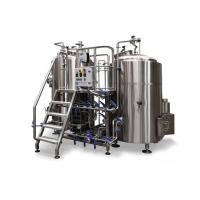 China Semi Automatic Electric Brewing System / 10BBL Stainless Steel Home Brew Kit on sale
