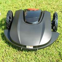 China Gasoline 10m/min 3000sqm Remote Control Lawn Mower 4h Charging on sale