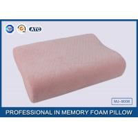 Baby Pillow Filling Anti bacterial Soft Memory Foam Toddler Pillow wtih Pink Cotton Pillow Cover Manufactures