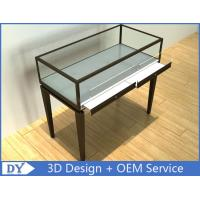 Modern Glass Jewellery Shop Counter With Locks / Showroom Display Cabinets Manufactures