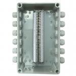 Electrical Enclosure Conduit Junction Box 250*150*200mm with UK2.5B Din Rail Terminal Blocks Manufactures