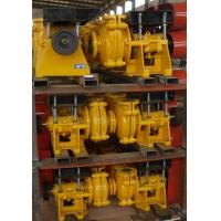 Buy cheap Horizontal mining high abrasive and anti-corrosive bentonite slurry pump from wholesalers