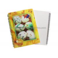 PET / PP Jotter 3D Lenticular Notebook A5/A6 Size UV  Printing for School Manufactures