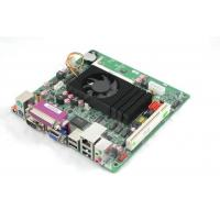 Quality Mini-ITX Motherboard Onboard Intel Atom D525 CPU  6 COM Port for sale