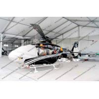 White Waterproof Aircraft Hangar Tent For Helicopter Parking Or As Hanger Shelter Manufactures