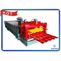 China IBR Corrugated Roof Sheet Roofing Glazed Tiles Roll Forming Making Machine 0.2-0.8mm Thickness on sale