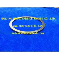 China Solid Carbide Seal Ring / Cemented Carbide Seal Ring / Sintered Carbide Circular Ring / TC Carbide Seal Ring on sale