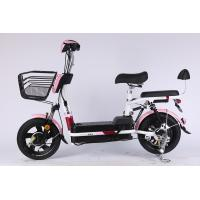 China LCD Display Steel Frame Folding E Bike Drum Brake With CE And Lead Acid Battery on sale