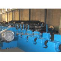 GCR12 Steel Silo Roll Forming Machine , AC Motor Pipe Making MachinePLC Control Manufactures