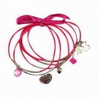 OEM CCB Fashionable Cord Bracelet in Various Designs, Acrylic Drops, Suitable for Promotional Gifts Manufactures