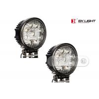 China AUDI / BMW 27 Watt 6 Super Bright Led Work Lights With Pmma Lens For Back Up Light on sale