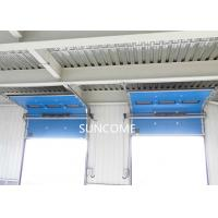 0.2-0.5m/s Opening Speed Industrial Sectional Doors Sandwich Construction Steel Manufactures