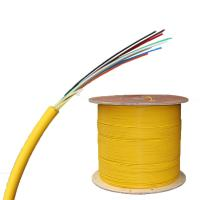 China FTTTH 8 Core Indoor Fiber Optic Cable PVC Single Mode Fiber Patch Cord on sale