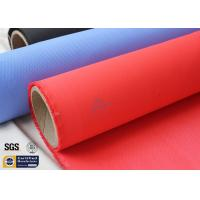"Fiberglass Fire Blanket 490GSM 3732 39"" Red Acrylic Coated Glass Fiber Fabric Manufactures"