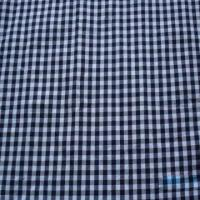 China Cotton Yarn Dyed Check Poplin Fabric, 47 and 48-inch Width on sale