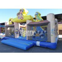 China Amusement Park Pirate Ship Inflatable Toddler Playground With Quality Assurance on sale