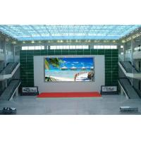 China P10 LED Display Board Indoor Full Color Led Display High Resolution 320mm x 160mm on sale