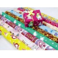 Red Pink Metallic Foil Wrapping Paper Rolls Flash Sheet Environmental Protection Manufactures
