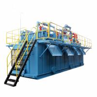 Corrosion - Resistant Mud Recycling System Big Capacity Installation Easily Manufactures