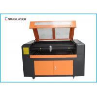 China 1390 Fabric Glass Crystal Laser Engraving Cutting Machine With RECI EFR 100W Laser Tube on sale