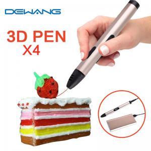 Dewang X4 Low Temperature Three Dimensional Printing Pen 1.75mm Abs Pla Filament Manufactures