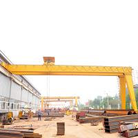 Monorail Semi Gantry Crane Single Beam Half  5T 10T 20T High Performance Manufactures