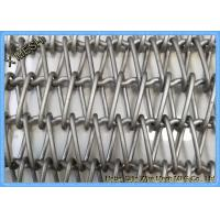Inconel 601 Metal Wire Mesh Spiral Conveyor Belt For Semiconductor Transportation Manufactures