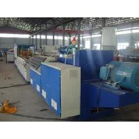 Wood Plastic Profile Extrusion Line (SJSZ80/156) Manufactures