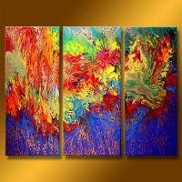 China Contemporary oil painting group canvas art on sale