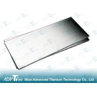 Annealing Titanium Foil Sheet 0.5mm - 20mm ASTM B265 with Acid Wash and Cold Rolled Processing Manufactures