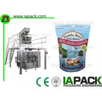 Zipper Pouch Packing Machine / Premade Pouch Filling Sealing Machine  Manufactures