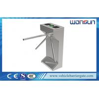 China Durable Security Tripod Turnstile Gate , Auto Barrier Gate for Library on sale