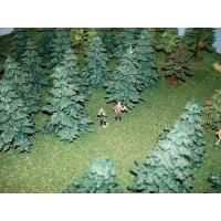 Model trees scale hand made mini trees for war game Layout Manufactures