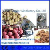 Peanut Sugar Coating Machine stainless steel Japan bean chocolate Manufactures