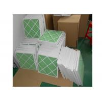 Disposable Z - Line Pleated Panel Air Filters , Industrial Air Purifier With Washable Filter Manufactures