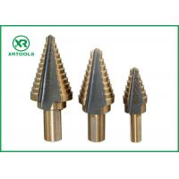 Buy cheap Straight Flute HSS Step Drill Bit , 2 Inch Step Drill Bit For Multiple Hole from wholesalers