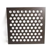 Painting Metal Sheet With Holes Customized Decorate Perforated Steel Plate Manufactures
