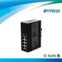 Industrial Ethernet switch unmanaged 8 10M / 100M RJ45 single mode 20km / 40km fast fiber switch Manufactures