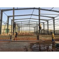 Buy cheap Prefabricated Light Steel Frame Structure Building Warehouse Workshop from wholesalers